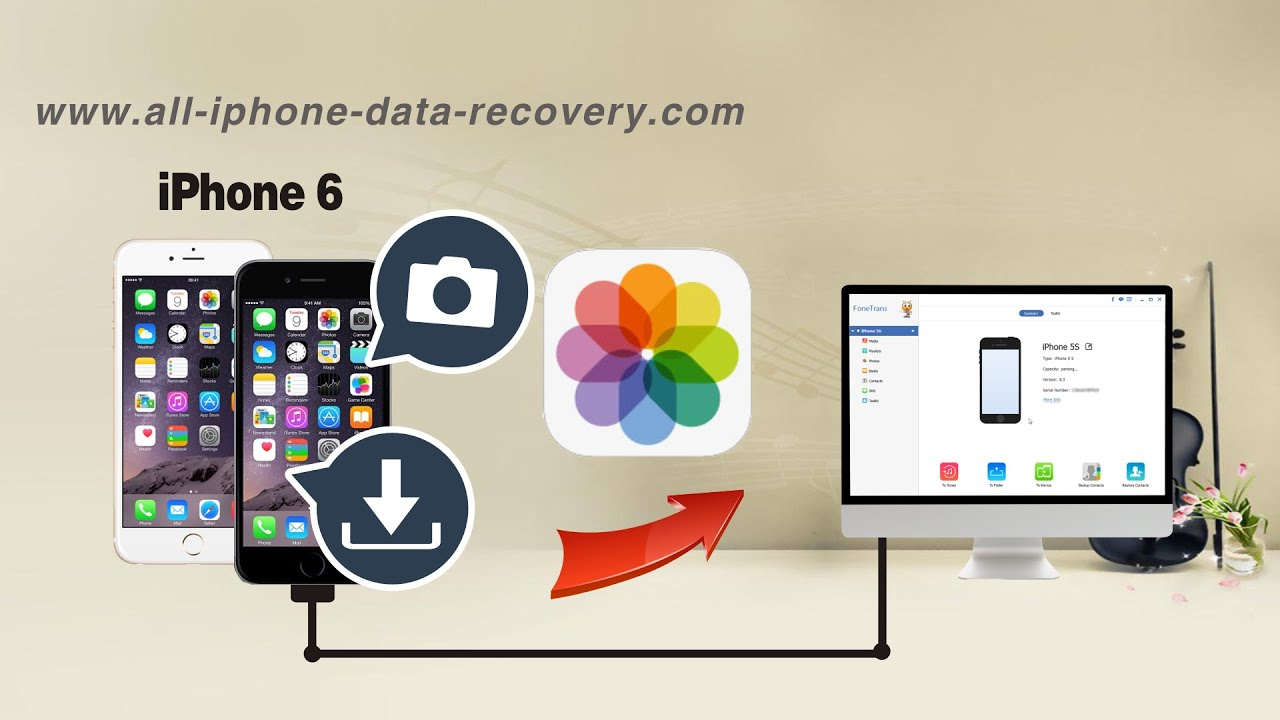 how to read backup stored on pc for iphone