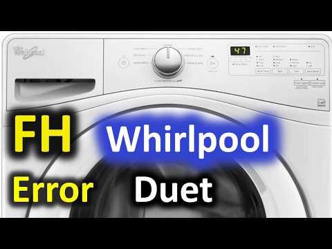 Washer Diagnostic Amp Repair Error Codes Fh F9 Mayt