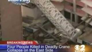 Deadly New York City Crane Collapse - 4 Dead as Crane Falls
