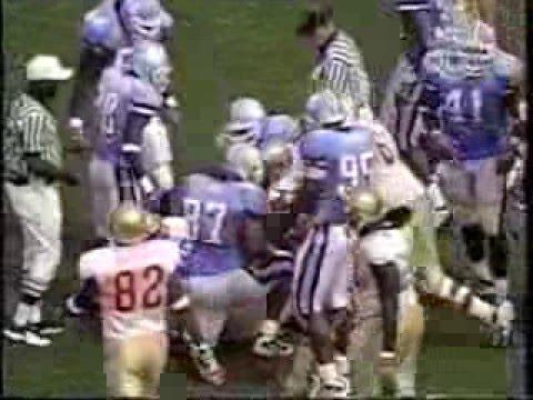 9/22/2001 - UNC Tar Heels vs. Florida State Seminoles