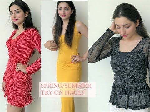 SPRING/SUMMER TRY-ON HAUL || SHEIN & ROMWE || RIA CHAUDHARY