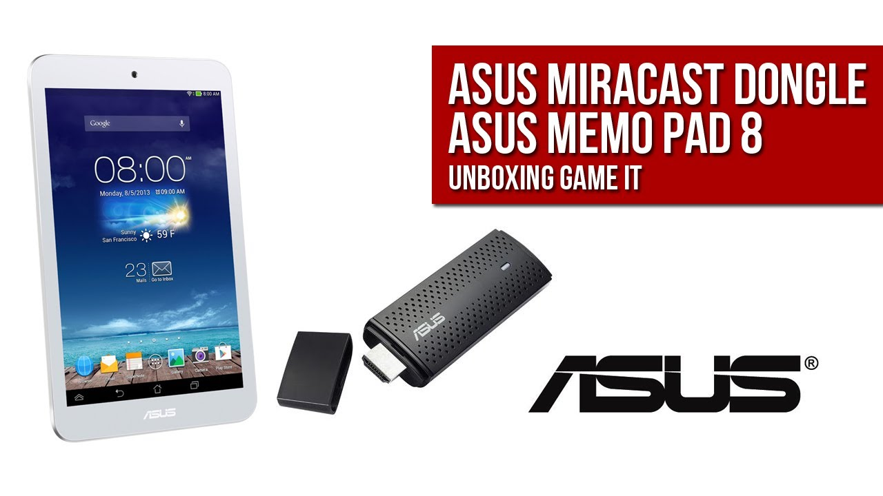ASUS Miracast Dongle Driver for Mac