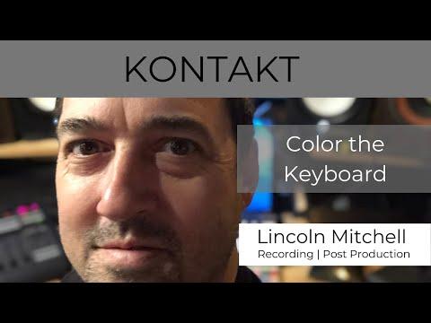 KONTAKT Tutorial - Customize Colors with set_key_color