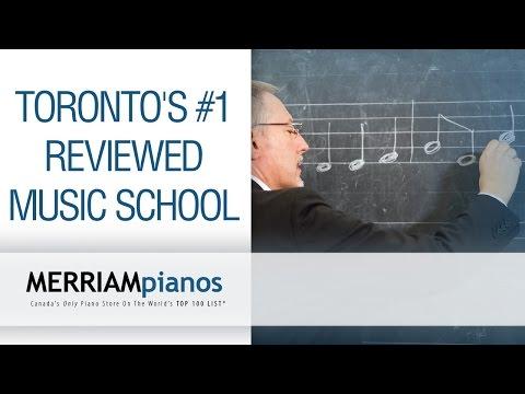 Toronto's #1-Reviewed Music School: Merriam School of Music