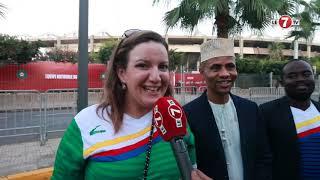 جماهير جزر القمر...المغرب شعب مضياف والمنتخب المغربي من أقوى المنتخبات الإفريقية.