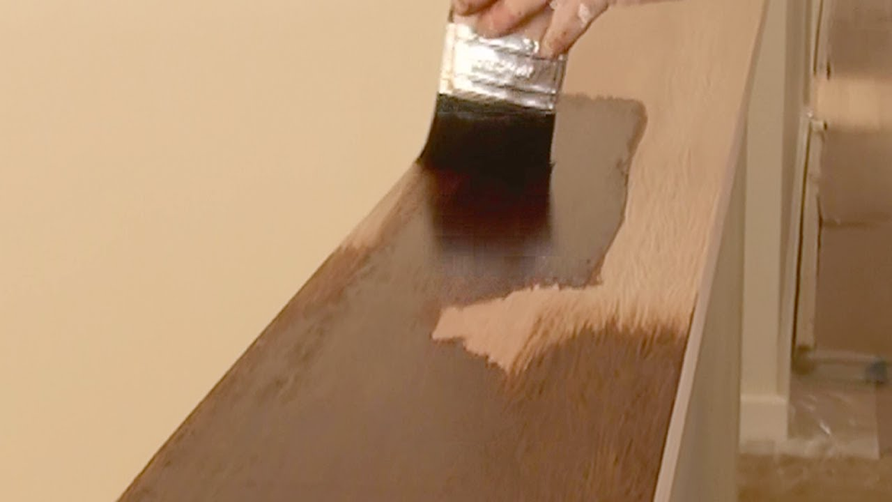 How To Stain Wood How To Apply Wood Stain And Get An Even Finish