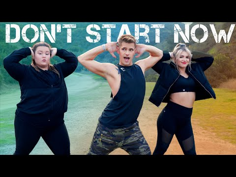 Dua Lipa - Don't Start Now | Caleb Marshall | Dance Workout