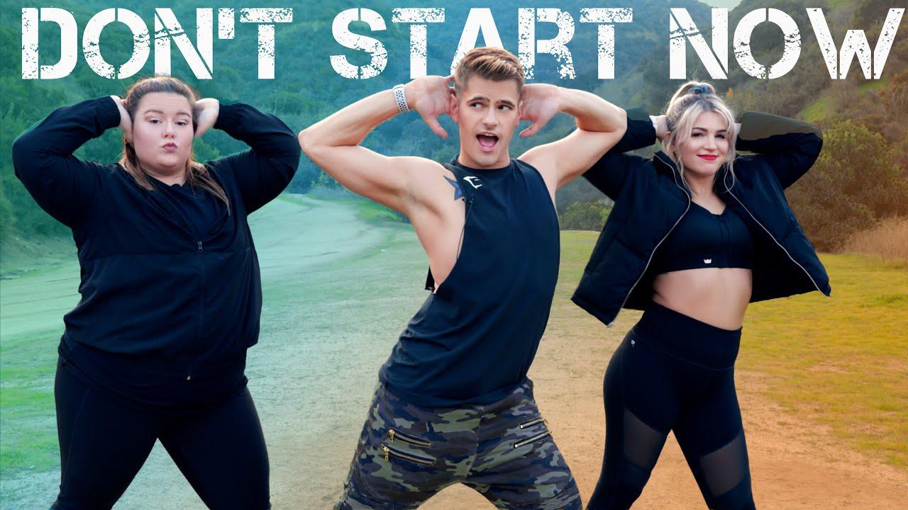 Dua Lipa - Don't Start Now | Caleb Marshall | Dance Workout