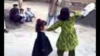 cut afghan girls attan