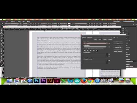 Inserting a Page Break in InDesign CS6/CC