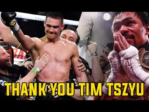 Secrets about Manny Pacquiao sparring mate Tim Tszyu who destroyed Jeff Horn