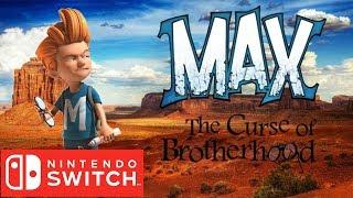 맥스 닌텐도 스위치 게임플레이 데모 1080p 60fp…