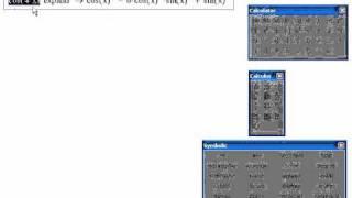 Mathcad-07. Пример: Алгебра