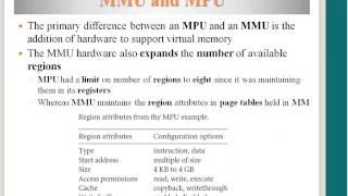 MMU Advantage, virtual memory translation, Multitasking with MMU, MMU organization