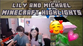 Michael Reeves and LilyPichu Minecraft Highlights