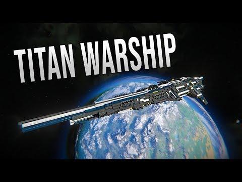SOVEREIGN TITAN - Space Engineers Epic Titan!