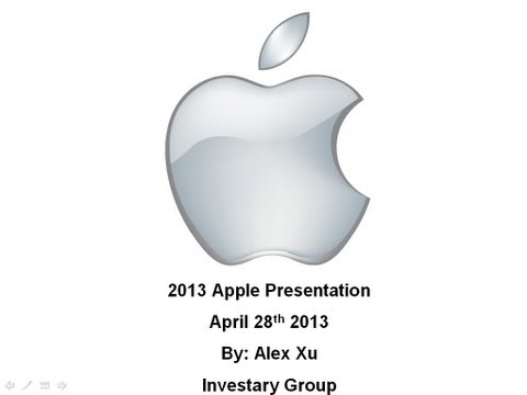 Most Underestimated Tech Stock 2013 & 2014: Apple Inc (AAPL) Stock Analysis Part 1