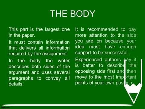 Argument Essay Example