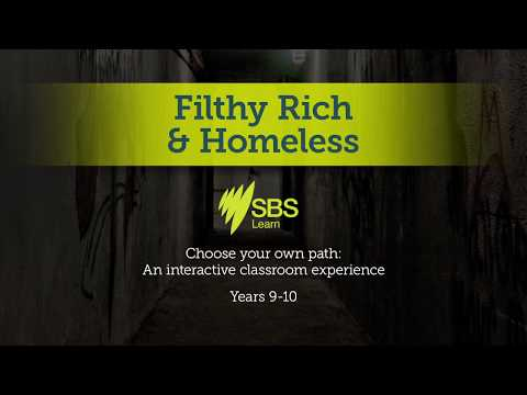Choose your own path: An interactive classroom experience - Filthy Rich & Homeless