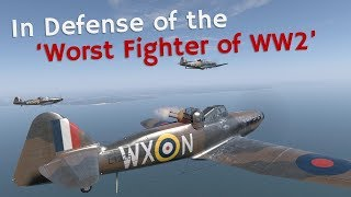 ⚜ | In Defense of the 'Worst Aircraft of World War 2' - Boulton Paul Defiant