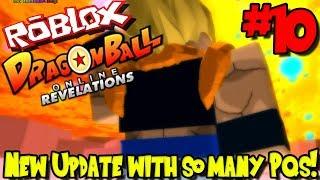 ¡NUEVA ACTUALIZACION CON TANTOS PQS! Roblox: Revelaciones en línea de Dragon Ball (Revamped) - Episodio 10