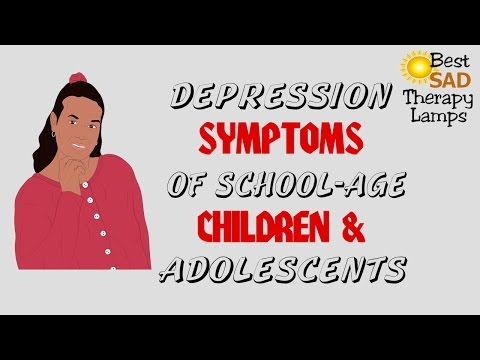 Depression Symptoms Teens, Adolescents, Children