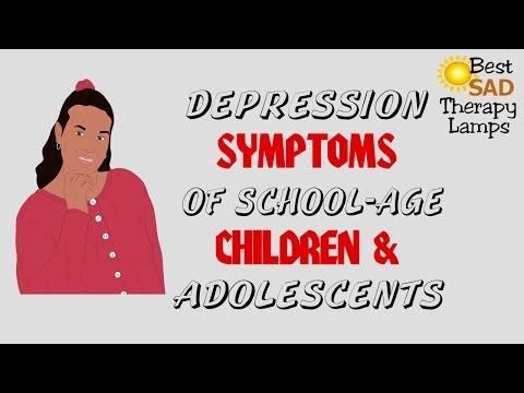 Depression Symptoms Teens, Adolescents, Children
