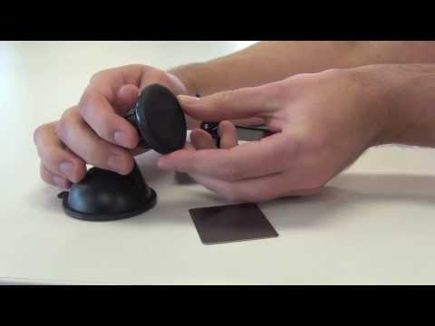 Universal Cradle-less Magnetic Windshield Dashboard Car Mount Holder
