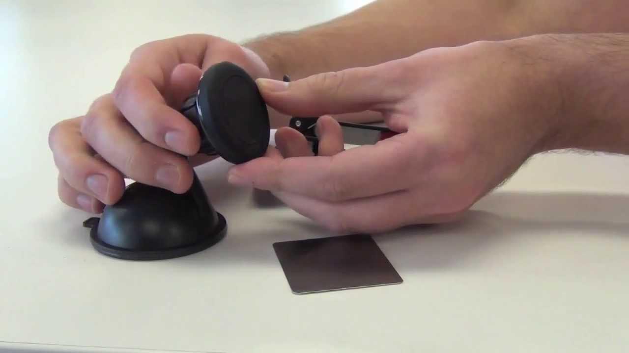 DIY Magnetic Qi Wireless Charging Car Mount - YouTube