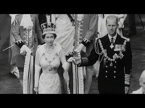 The Crown Season 2: The Real Events | British Pathé