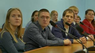 Подписание соглашения между ЮУрГУ и Общественной палатой Челябинской области