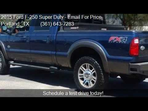 Ford F  Super Duty Lariat For Sale In Portland Tx