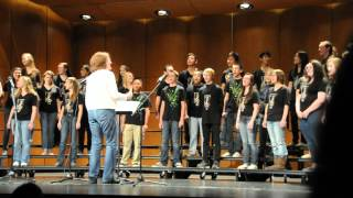 Saint Francis High School - I Leave With a Song - Saint Francis Chamber Choir