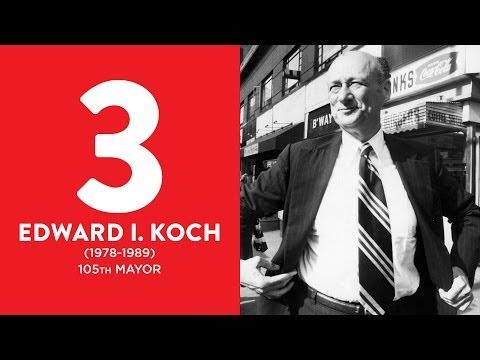 BEST MAYORS: Ed Koch