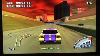 Rumble Racing Playthrough *HD* Part 1 ~ Rookie Cup 1