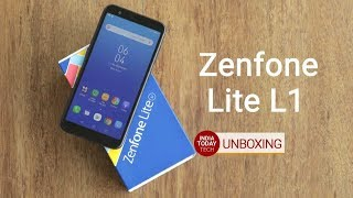 Asus Zenfone Lite L1 unboxing and quick review