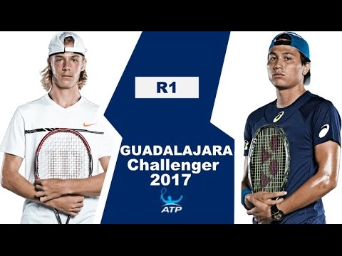 Denis Shapovalov vs Akira Santillan Highlights GUADALAJARA 2017