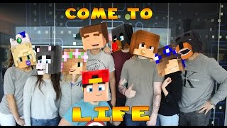 Minecraft-THE LITTLE CLUB COMES TO LIFE!!
