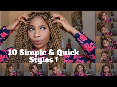 10 Quick & Simple Marley Twists/ Havana Styles