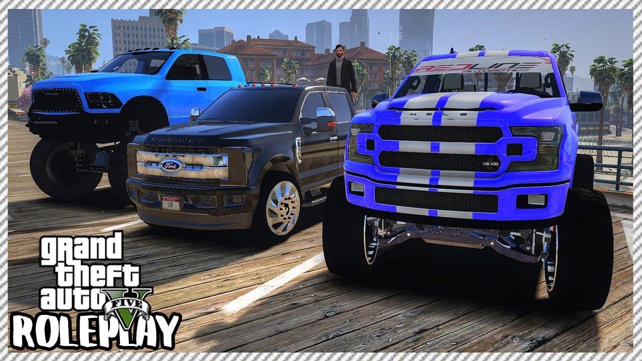 GTA 5 Roleplay - Truck Meet 755HP Shelby F150 | RedlineRP #307