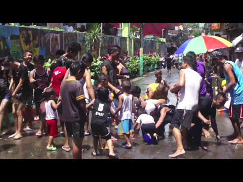 BUHUSAN sa Lucban... Easter Sunday. It's More Fun in the Philippines