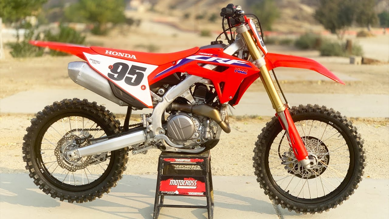 2021 CRF 450 First Impressions!