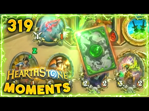 Kabal Courier Gave Him..   Hearthstone Gadgetzan Daily Moments Ep. 319 (Funny and Lucky Moments)