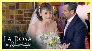 La Rosa de Guadalupe: Santiago deja plantada a Natalia el día de su boda   Ilusiones robadas