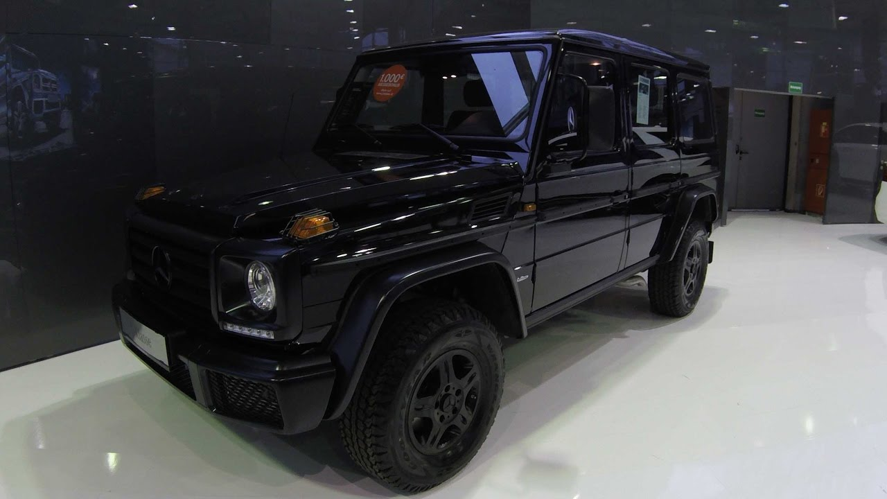 MERCEDES BENZ G-CLASS PROFESSIONAL W463 ! BLACK COLOUR ! G350 D ...
