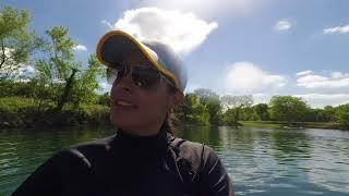 Lake 288 swimming session
