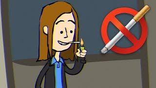 Я начал курить сигареты ! Анимации для подростков