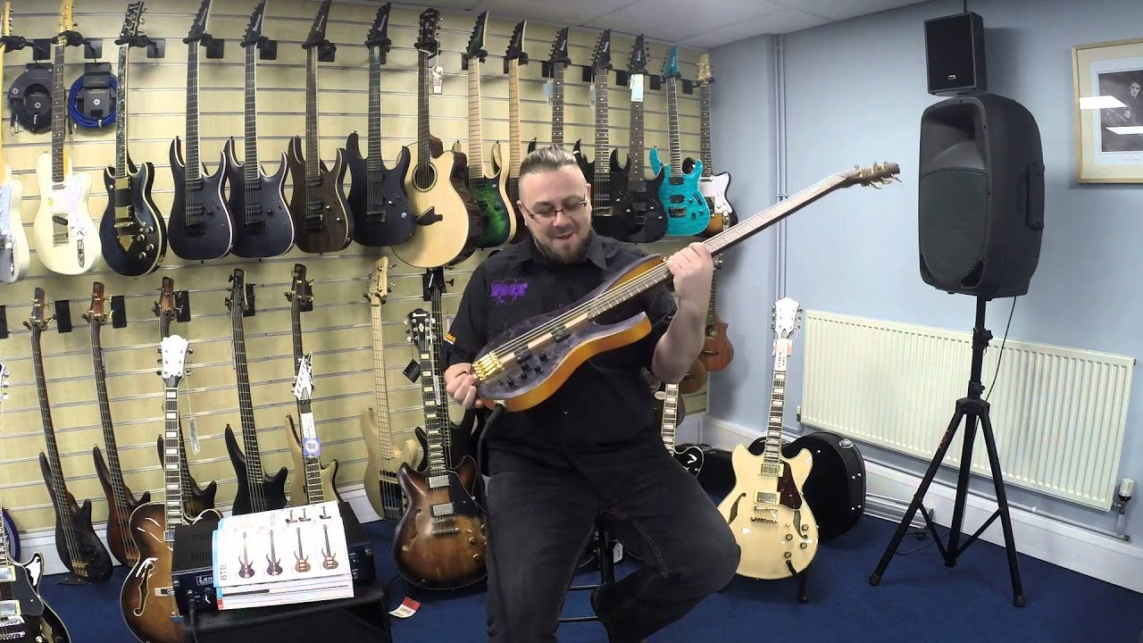 namm 2016 ibanez btb1605 bass guitar demo youtube