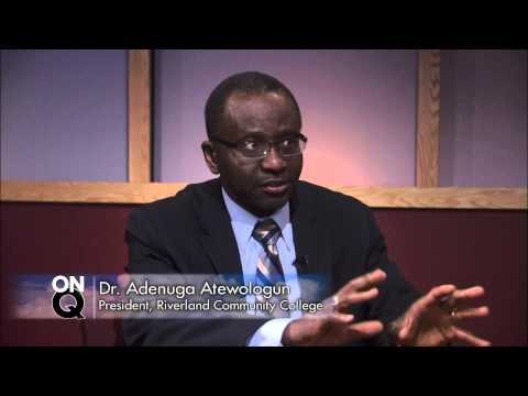 KSMQ's On Q with Dr. Adenuga Atewologun, Riverland Community College Re: MSU-Mankato partnership