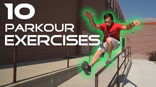10 BEGINNER PARKOUR EXERCISES | Practical Fitness